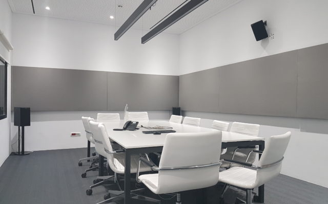 Αcoustic solutions for meeting rooms