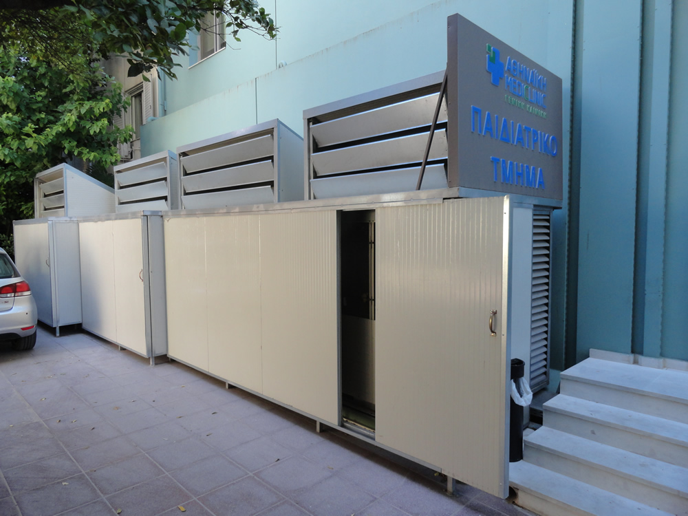 Heat Pump Sound Proofing In Clinic Architectural