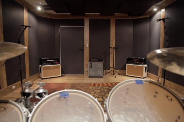 music studio construction and acoustics