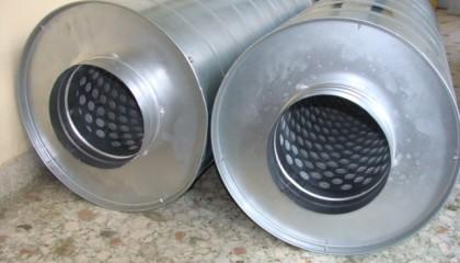Σιγαστήρες Εξαγωγής- Εισαγωγής Αερίων: ALPHAfon- SE