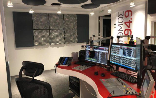 Rythmos 94.9 studio