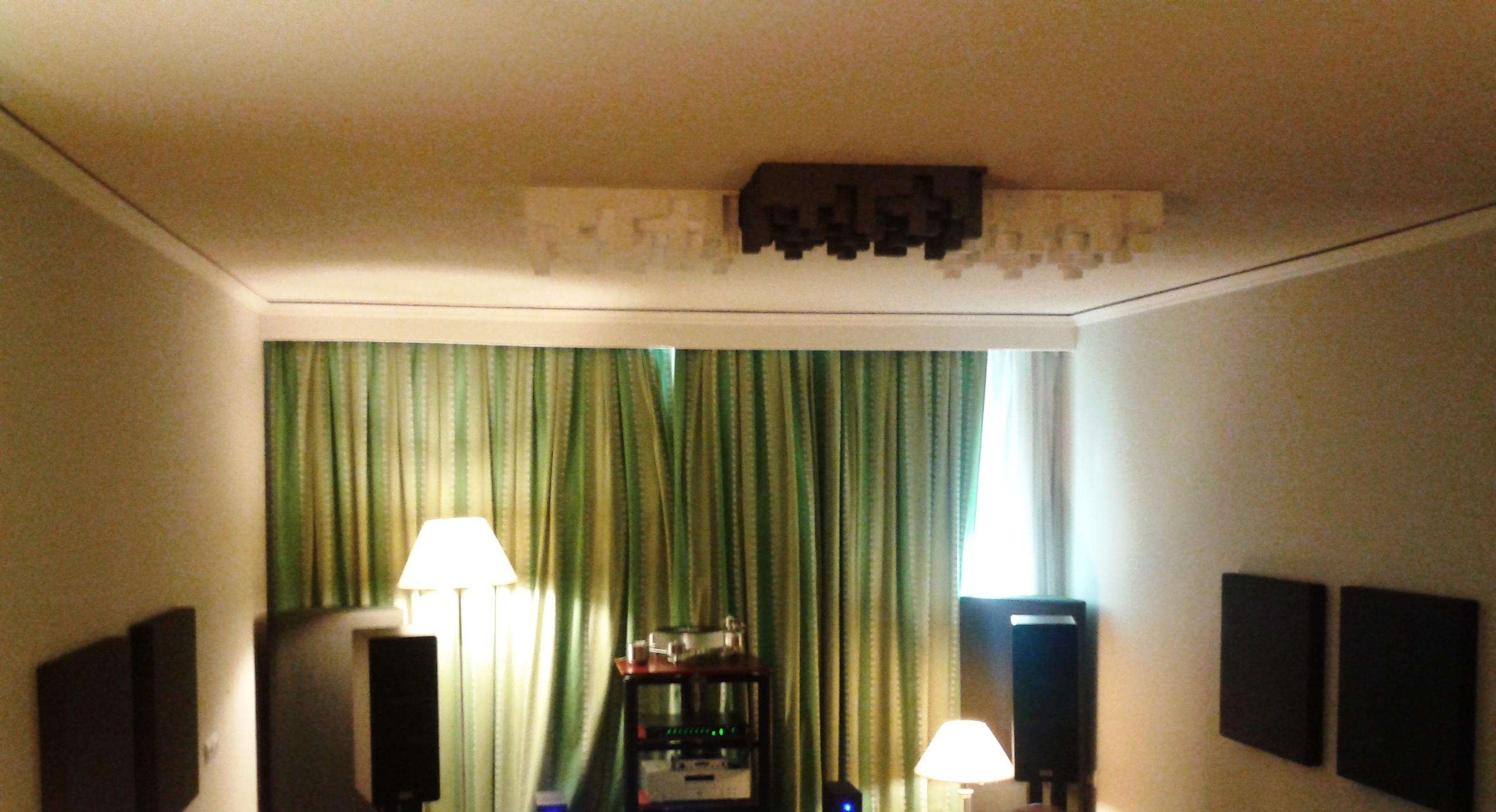 ceiling diffuser hifi room