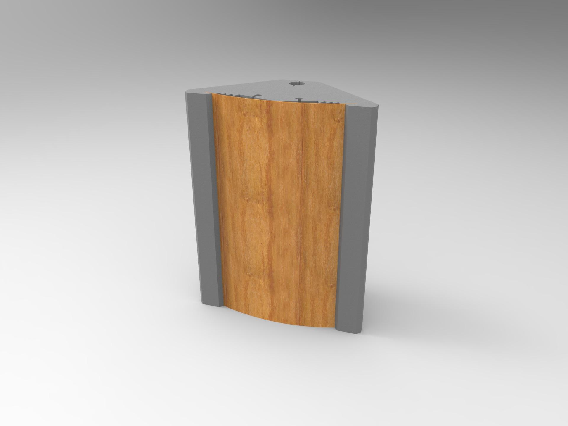 Polymorphic Bass Trap Acoustic Panel Polyfon Bt