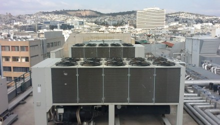 Government Building Chiller Soundproofing