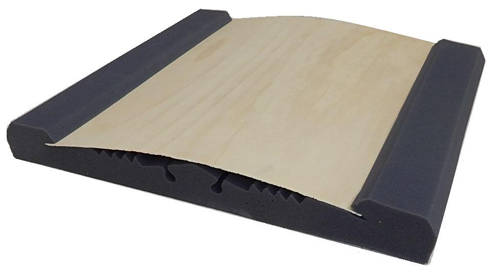 Foam acoustic panel