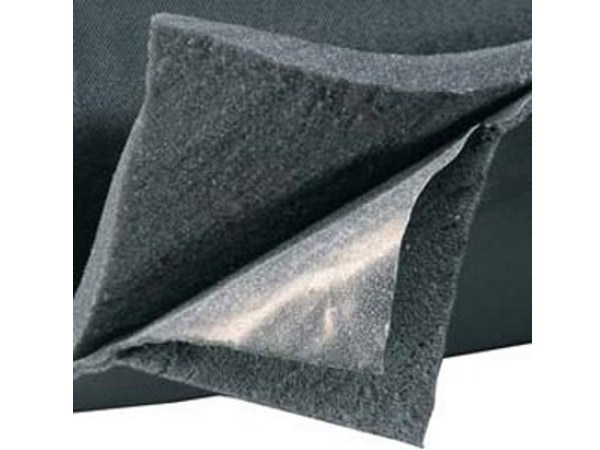 Lead and polyethylene foam