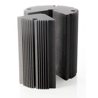 Round trap foam panels