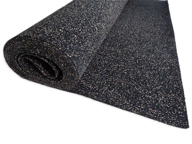 recycled rubber insulation roll