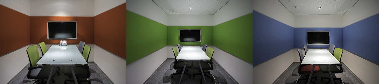 Acoustic Panels in Office Project