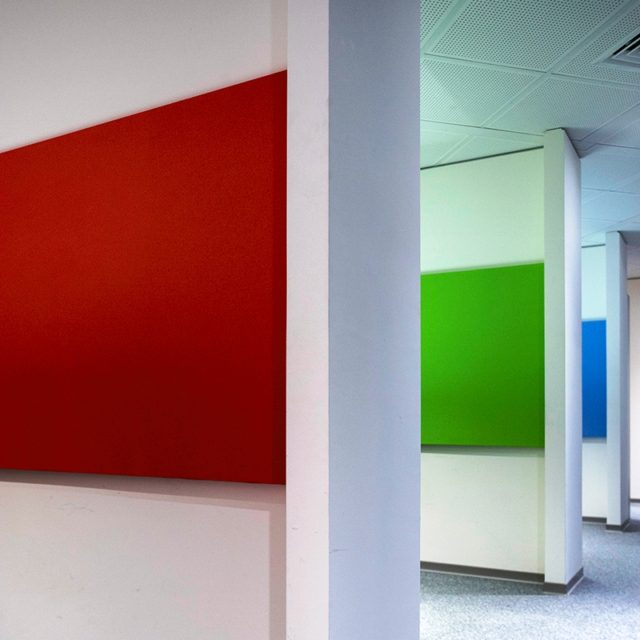 Acoustic panels for offices