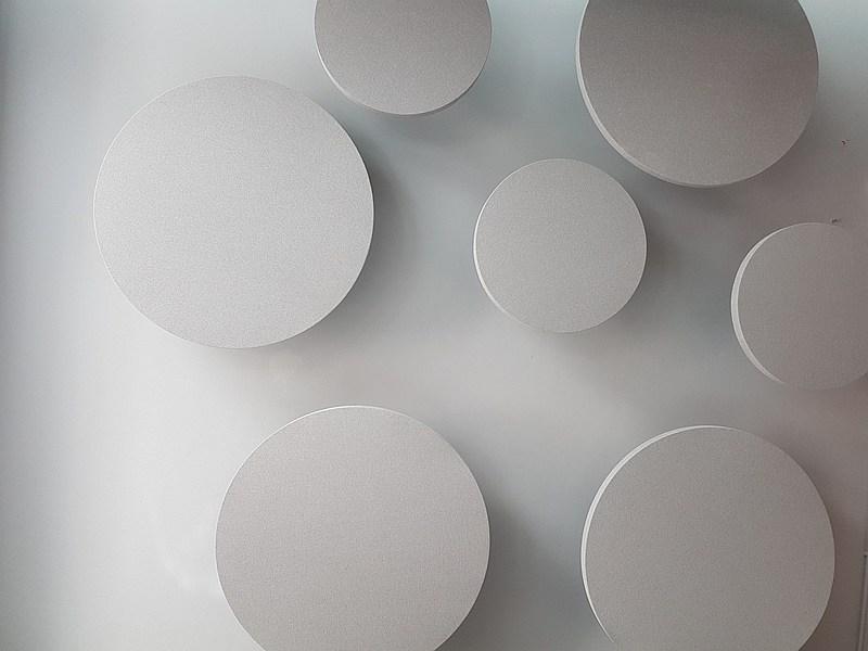 κυκλικά ηχοαπορροφητικά πλαίσια alphacoustic