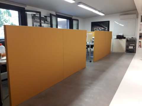 Office application of ALPHAcoustic AM