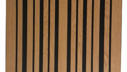 Acoustic Wooden Slotted Panel <b>POLYFON- WS</b>