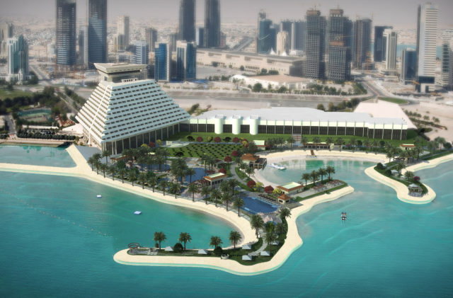 Sheraton Hotel Doha Qatar   ΑΛΦΑ ΑΚΟΥΣΤΙΚΗ   Ηχομονώσεις   Μελέτες ακουστικής   Μετρήσεις θορύβου   AlphaAcoustic-inside