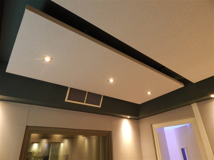 music studio acoustic panels