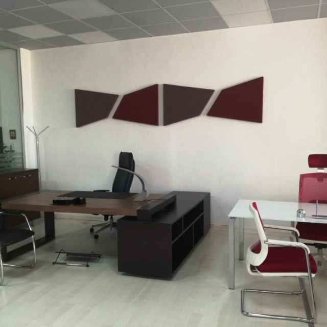 Office acoustic panels for walls
