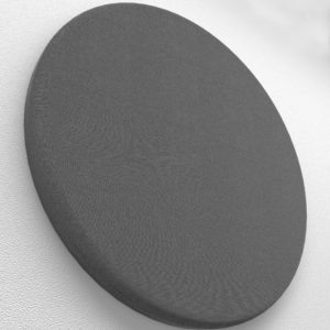 circle acoustic panel smooth curves