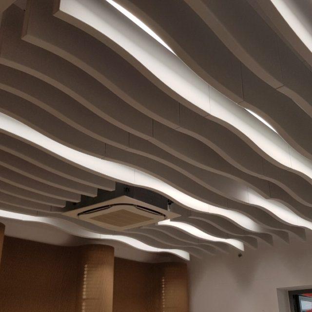 sine-wave acoustic baffles ab sine