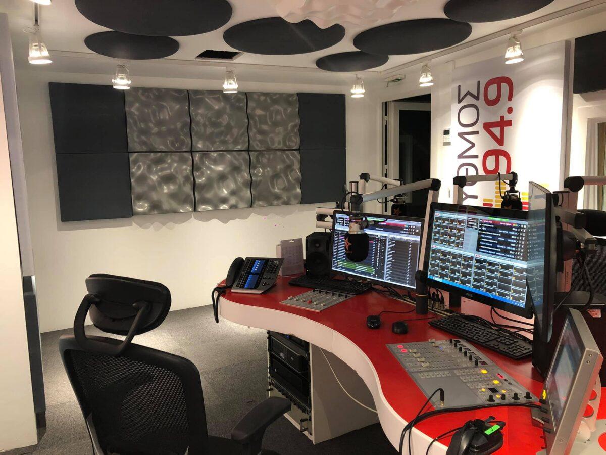 ακουστική μελέτη ηχομόνωση σε στούντιο