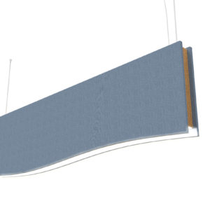 ceiling acoustic baffle
