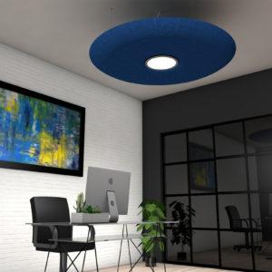 ηχοαπορροφητικό φωτιστικό οροφής