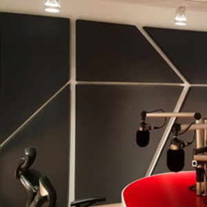 trapezoid acoustic panels