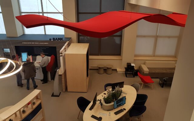 ceiling cloud acoustics