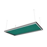 ceiling light sound absorber