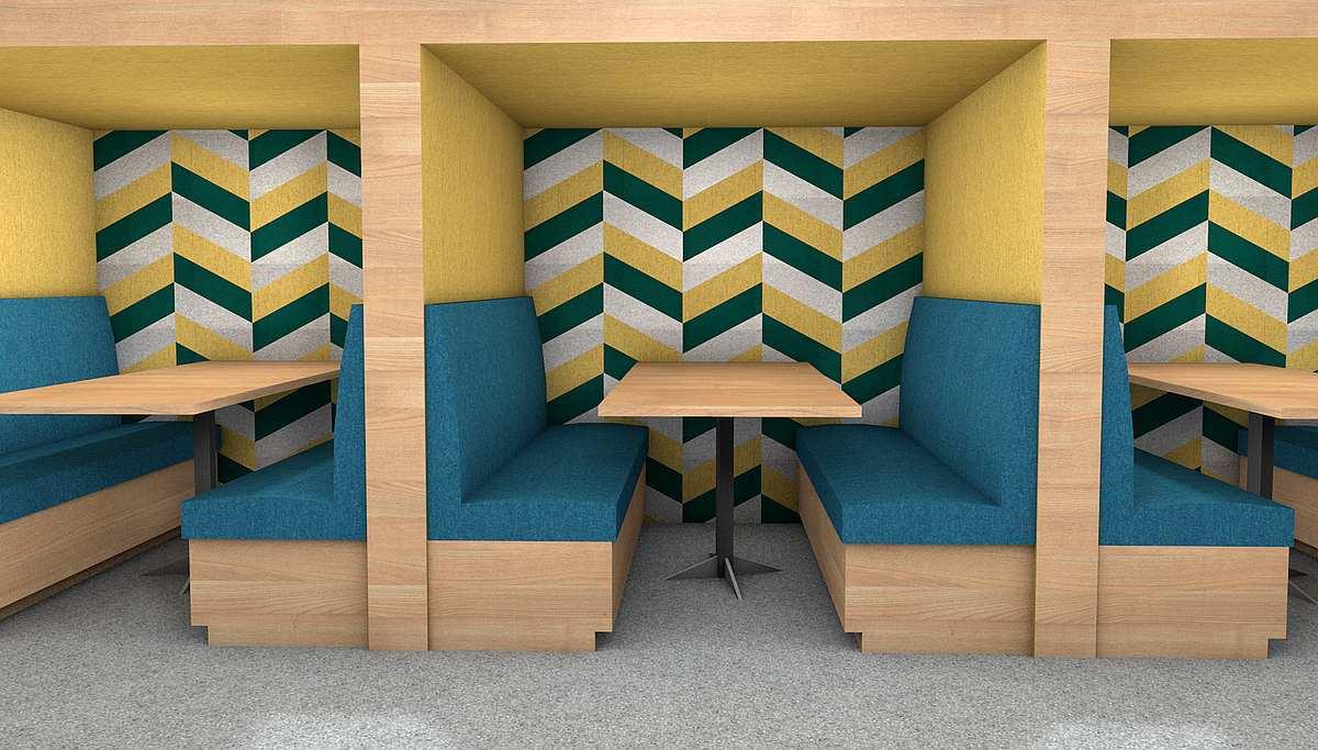 woollen acoustic booth
