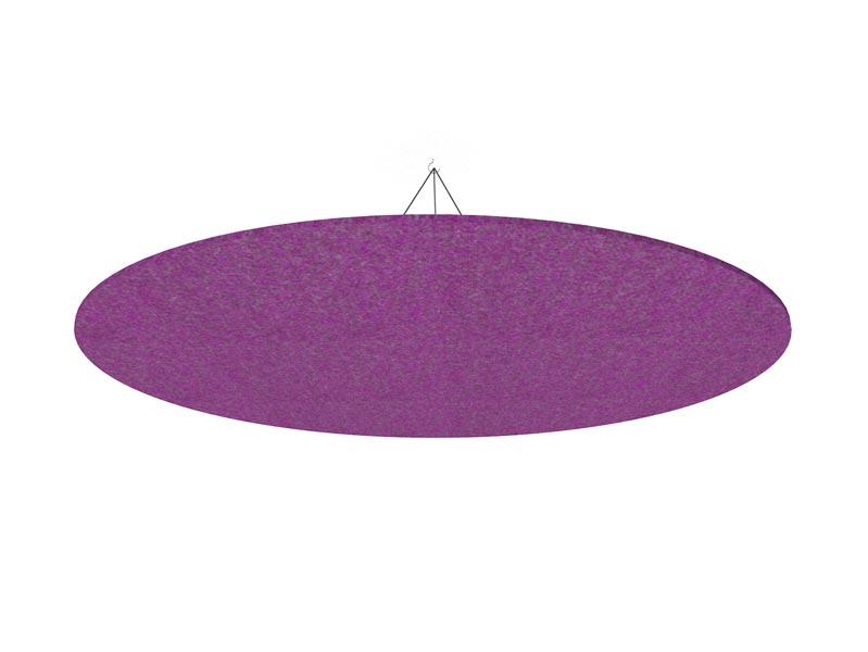 purple woollen circle cloud