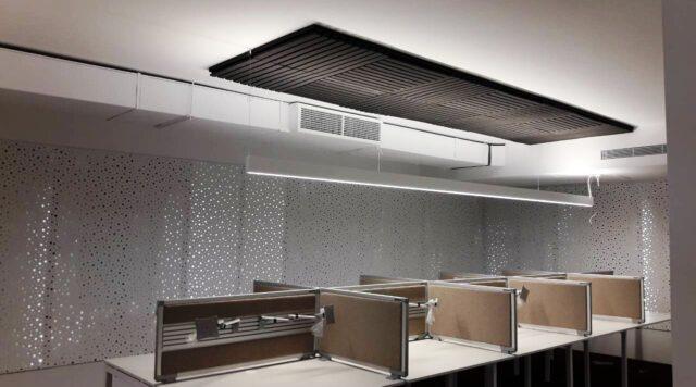 αφρώδες ηχοαπορροφητικό οροφή