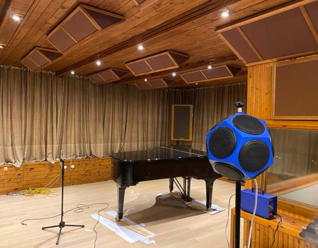 ακουστική μέτρηση στούντιο