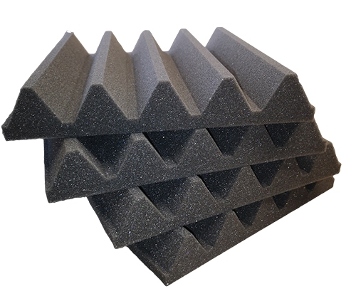 acoustic foam with wedges