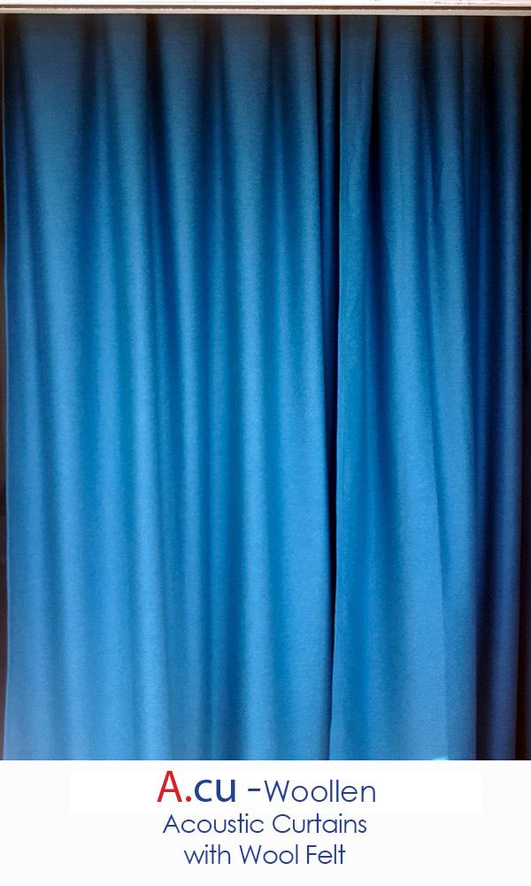 Woollen Acoustic Curtain
